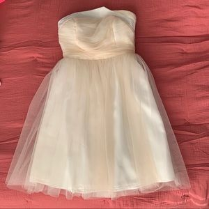 5|48 size 2 Cocktail Dress in Peach & White